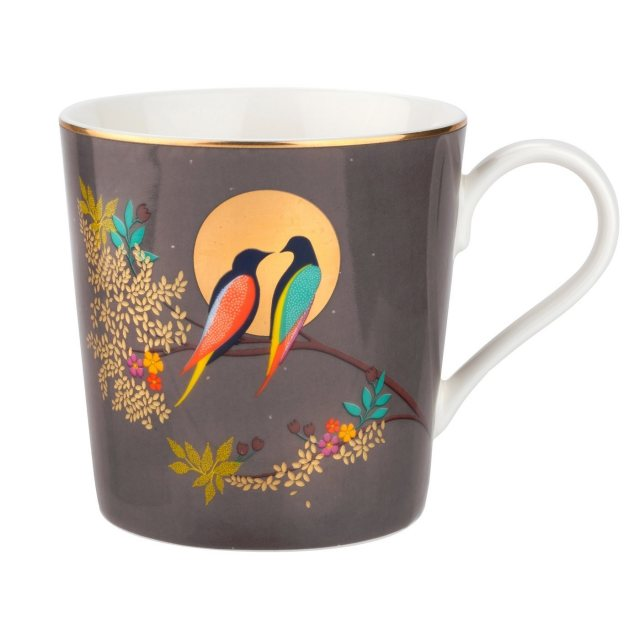 Sara Miller London Sara Miller Chelsea Collection Mug Dark Grey