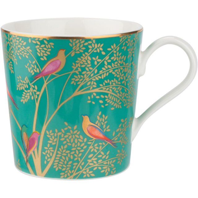 Sara Miller London Sara Miller Chelsea Collection Mug Green
