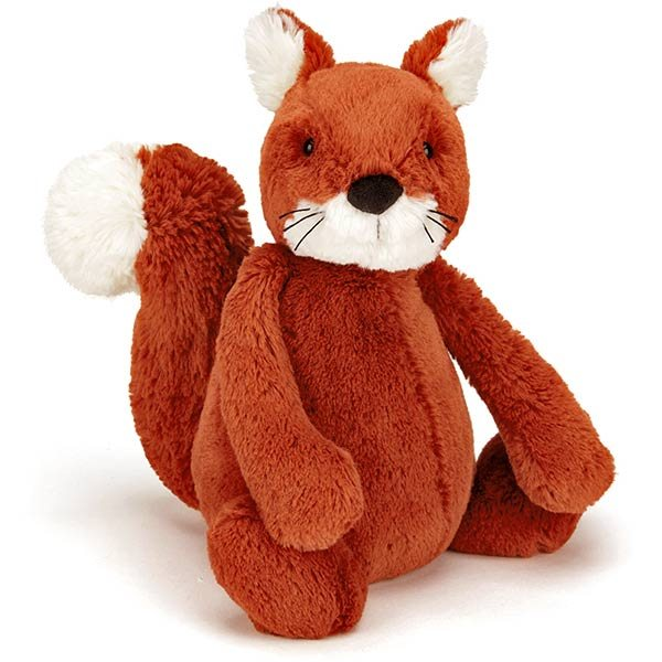 Jellycat Soft Toys Jellycat Small Bashful Squirrel