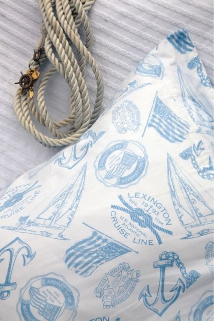 Lexington Lexington Seaside Collection Light Blue Single Bedding Set