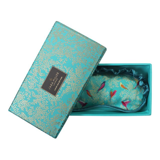 Sara Miller London Sara Miller London Silk Eyemask Birds in Tree
