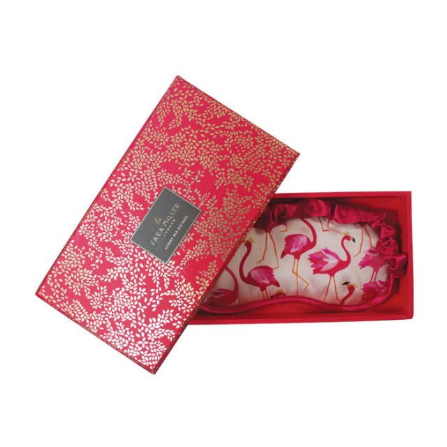 Sara Miller London Sara Miller London Silk Eyemask Flamingo