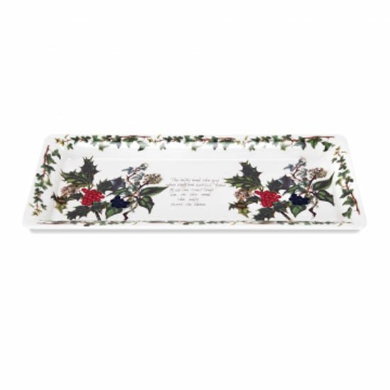 Portmeirion The Holly & The Ivy Sandwich Tray