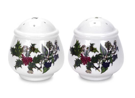 Portmeirion The Holly & The Ivy Salt & Pepper Pots