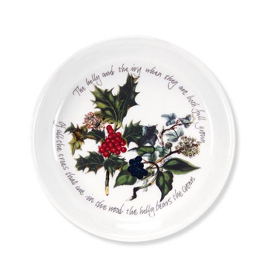 Portmeirion The Holly & The Ivy Sweet Dish Pair