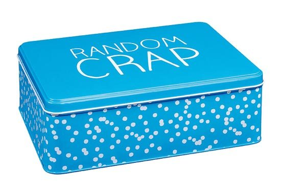 Happy Jackson Happy Jackson Extra Large Rectangular Tin