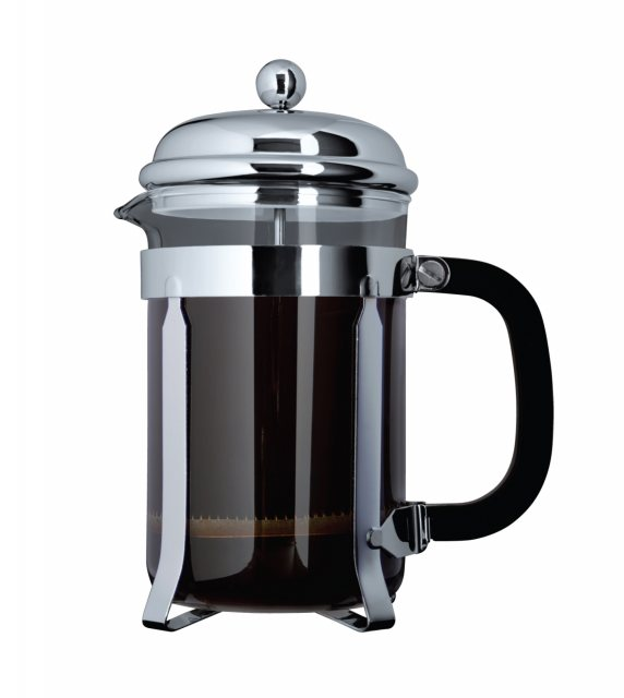 Cafe Ole Classic Coffee Cafetiere In Chrome