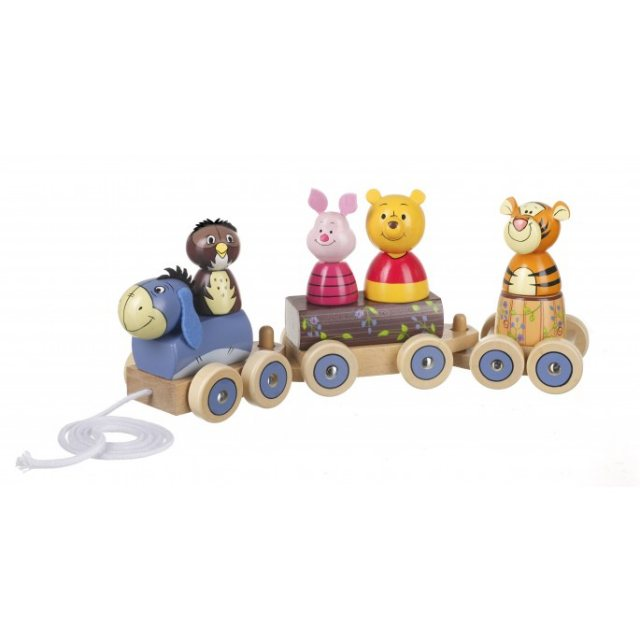 Orange Tree Winnie The Pooh Puzzle Train