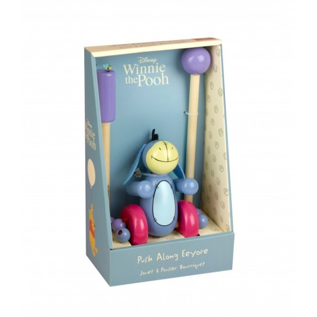 Orange Tree Eeyore Push Along Boxed