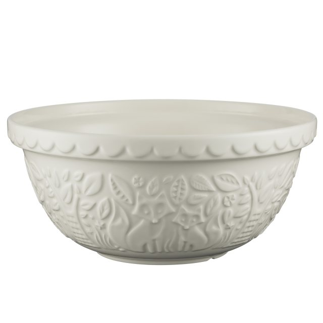 Mason Cash Mason Cash In The Forest Cream Mixing Bowl 29cm