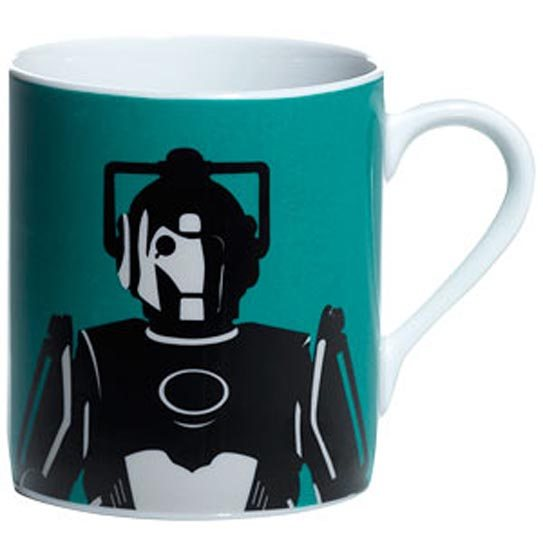 Doctor Who Doctor Who Cyberman Mug