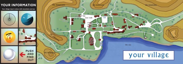 The Prisoner The Prisoner Village Map