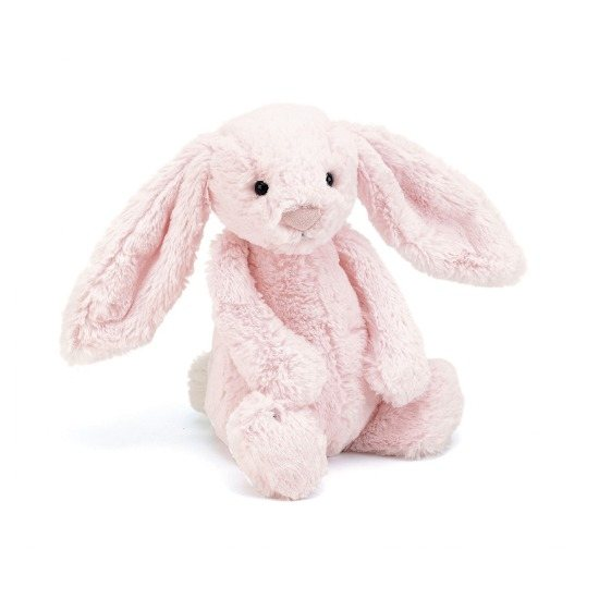 Jellycat Medium Bashful Pink Bunny