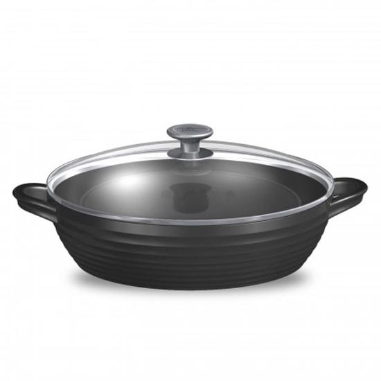 Sophie Conran for Portmeirion Sophie Conran for Portmeirion Black Shallow Casserole Dish