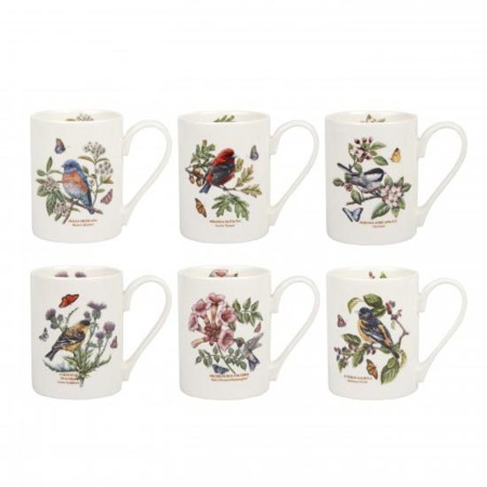 Portmeirion Botanic Garden Birds Coffee Mug
