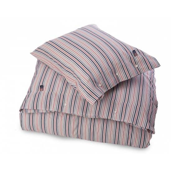 Lexington Lexington Seaside Poplin Multi Striped Single Bedset