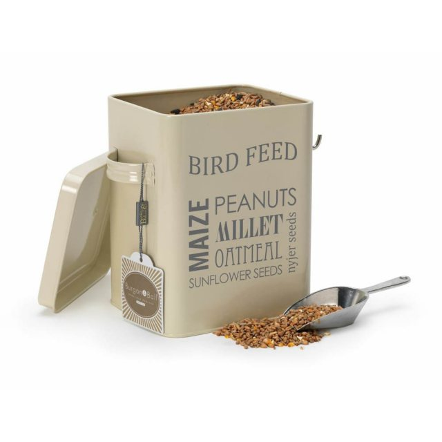 Bird Feed Tin - Jersey Cream