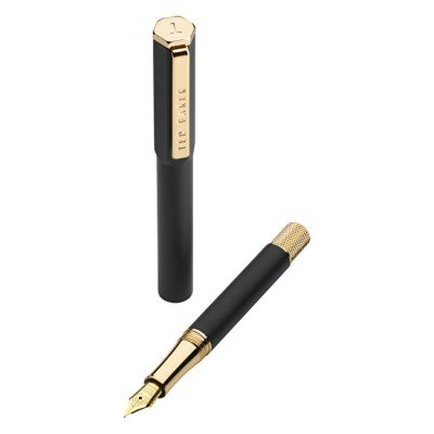 Ted Baker Ted Baker Black Onyx Fountain Pen