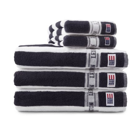 Lexington Lexington New Authentic Towel 50 x 100cm Charcoal