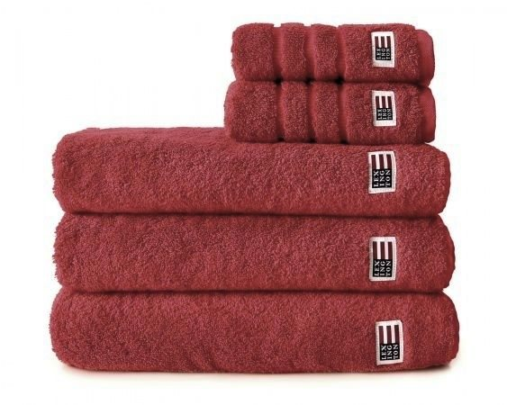 Lexington Lexington Original Towel Dark Red 70 x 130cm