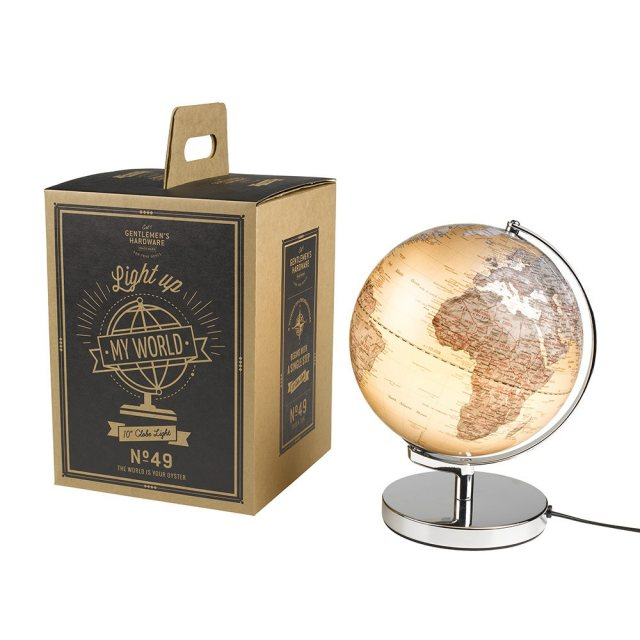 Gentlemen's Hardware Illuminated Globe Light
