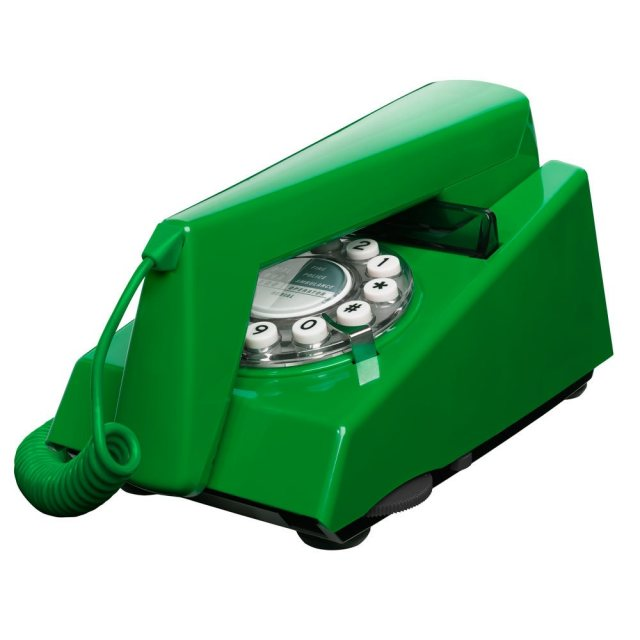 Wild & Wolf Trim Phone Emerald Green