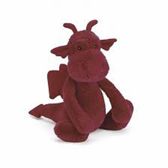 Jellycat Soft Toys Jellycat Medium Bashful Dragon