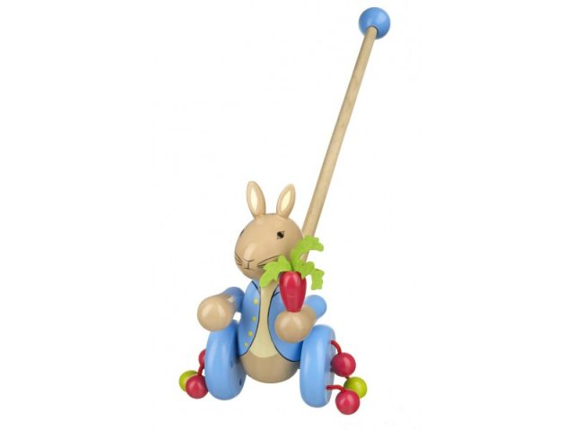 Peter Rabbit Peter Rabbit Wooden Push Along