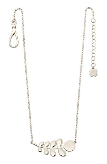 Orla Kiely Orla Kiely Buddy Silver Stem Pattern Necklace