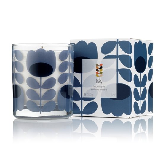 Orla Kiely Orla Kiely Lavender Scented Candle 200g