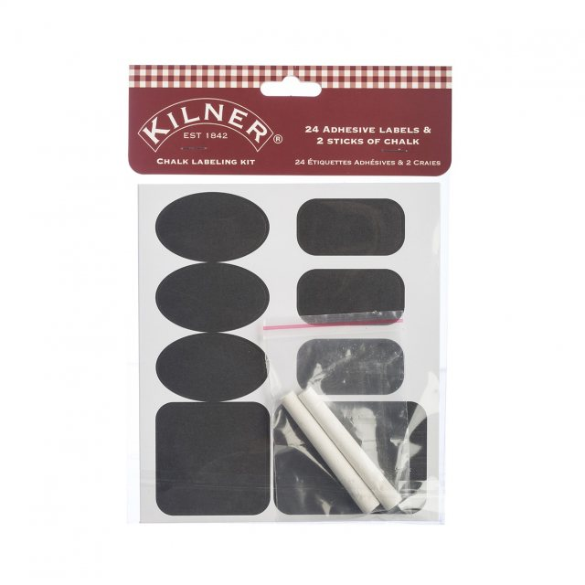 Kilner Kilner 26pc Chalk Labelling Set