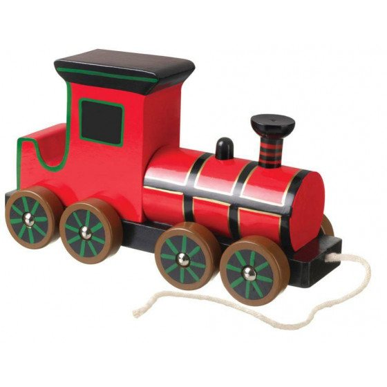 Orange Tree Wooden Steam Train Pull Along