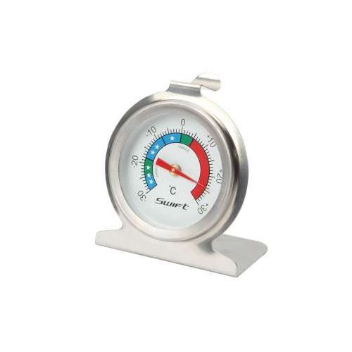 Stainless Steel Fridge/Freezer Thermometer