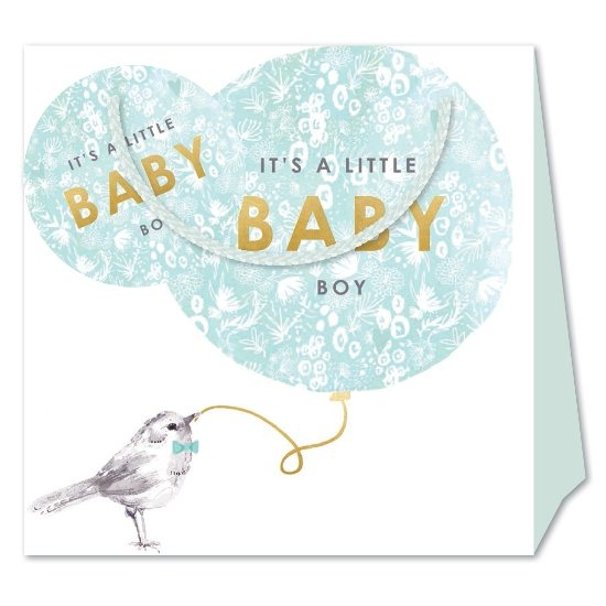 Louise Tiler Louise Tiler Baby Boy Medium Gift Bag