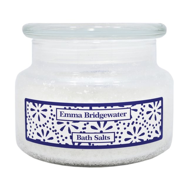 Emma Bridgewater Emma Bridgewater Sea Blue Flowers Bath Salts