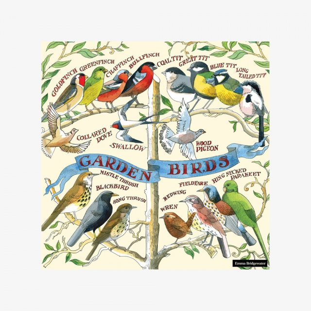 Emma Bridgewater Emma Bridgewater Garden Birds Lunch Napkins