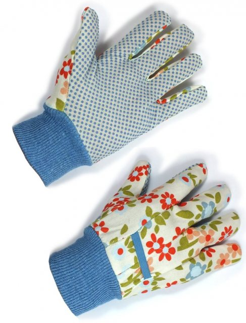 Laura Ashley Laura Ashley Everyday Cotton Gloves Twinpack Large