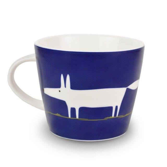 Scion Living Mr Fox Indigo Mug