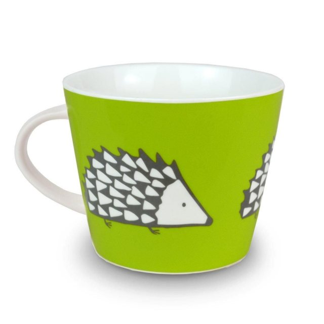Spike Mug Lime Green