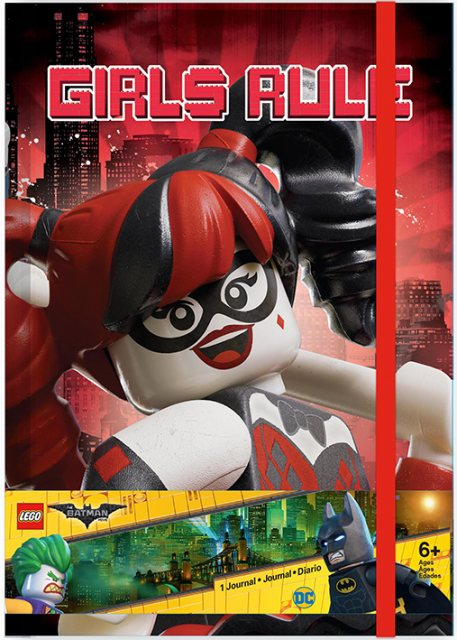 LEGO Lego Batman Movie-Harley Quinn/Batgirl Journal