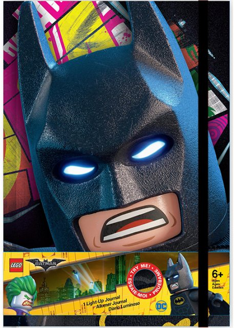 LEGO LEGO Batman the Movie Light Up A5 Journal