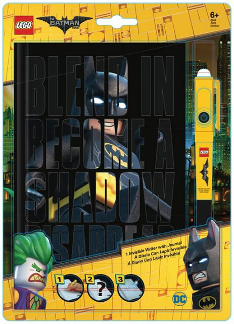 LEGO LEGO Batman The Movie Invisible Writer Pen & A5 Journal