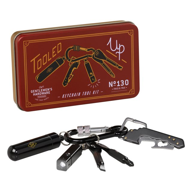 Gentlemen's Hardware Gentlemen's Hardware Key Chain Mini Tool Set
