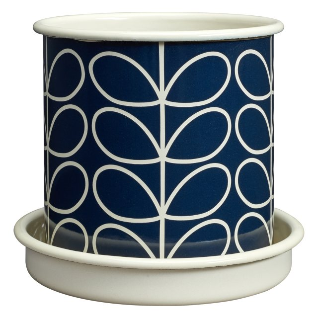 Orla Kiely Orla Kiely Linear Stem Medium Plant Pot