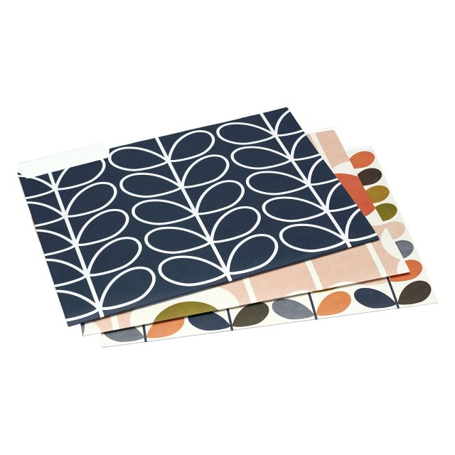 Orla Kiely Orla Kiely A4 Card File Folder Set