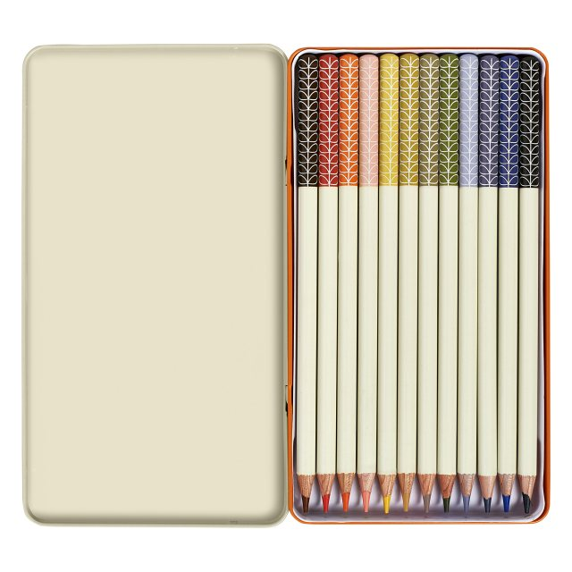 Orla Kiely Orla Kiely Colouring Pencils Set