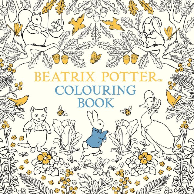 Peter Rabbit Beatrix Potter Colouring Book