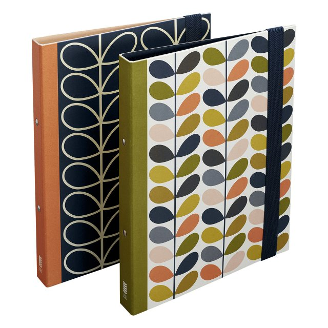 Orla Kiely Orla Kiely Flowers Ring Binder Set