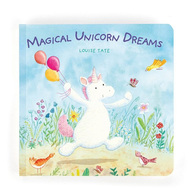 Jellycat Soft Toys Jellycat Magical Unicorn Dreams Book