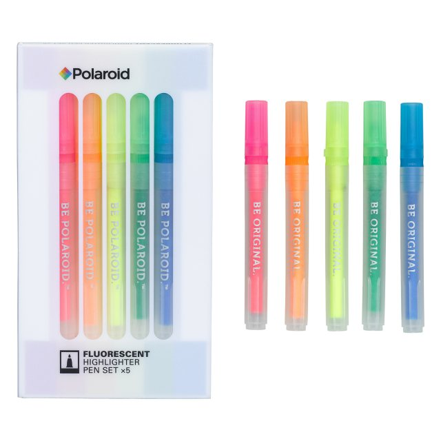 Polaroid Polaroid Fluorescent Highlighter Pen Set
